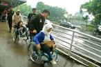 Pada beberapa lokasi halte Transjakarta cukup memadai dan terus dievaluasi kelayakannya. ( Tajuk.co / Aljon Ali Sagara )