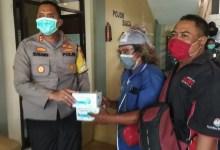 Photo of Peduli Akan Tugas Jurnalis Ditengah Covid-19, Kapolres Situbondo Berikan Masker