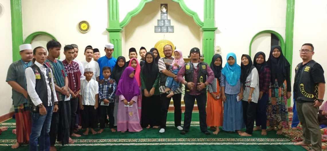 Satudarah MC Bacassie Chapter Gelar Charity Bersama Anak Yatim