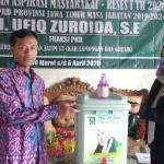 Ning Ufiq, Politikus PKB Berparas Cantik Bagikan Hand Sanitizer dan Wastafel