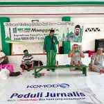 Ketua Komunitas Media Online Indonesia (Komodo), Senin, (21/4).