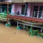 Kondisi Banjir di Puri Gading, Sabtu, (20/2).
