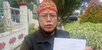 AUL/BERITA SAMPIT - Ketua Satgas Kalteng Watch Anti Mafia Tanah, Men Gumpul