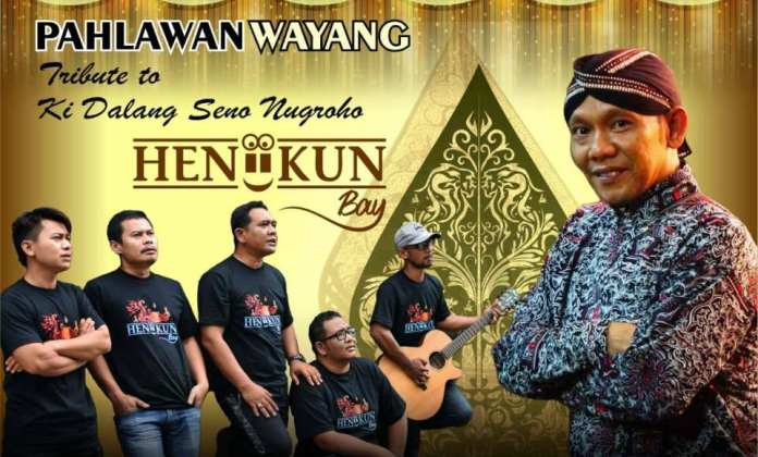Poster lagu Pahlawan Wayang dari Heniikun Bay yang didedikasikan untuk dalang kondang almarhum Ki Seno Nugroho. (Dok. Istimewa)