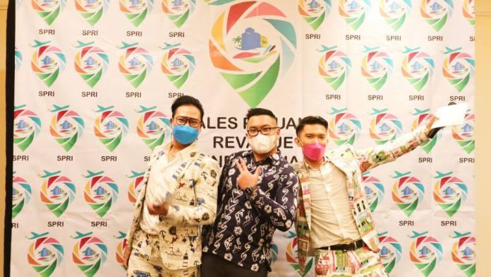 Foto bersama Halal Bihalal SPRI pada Jumat, 11 Juni 2021 di Jakarta. (Dok. Istimewa)