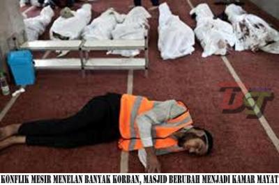 004 - Masjid-masjid kairo beraromakan mayat