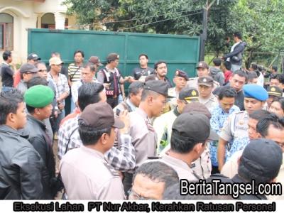 046 - Eksekusi Lahan PT Nur Akbar Kerahkan Ratusan Personel