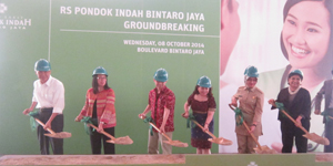 Peresmian Pembangunan RSPI-Bintaro Jaya Oleh Walikota Tangerang Selatan