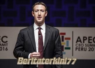 Sahamnya Anjlok, Pendiri Facebook Rugi Rp 83,3 Triliun