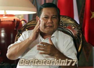 Ketua Umum Gerindra Resmi Maju Capres Tahun 2019