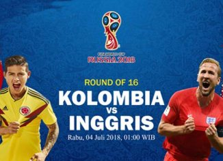 Prediksi Babak 16 Besar Piala Dunia Antara Kolombia vs Inggris = Bandar Bola Online