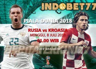 Prediksi Perempat Final Piala Dunia Antara Rusia vs Kroasia - Bandar Bola Online