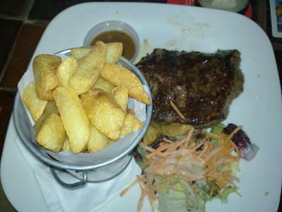 Lunch på Porterhouse