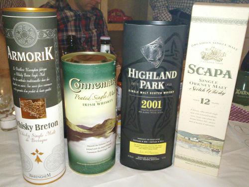 Whiskyprovning hos Tor