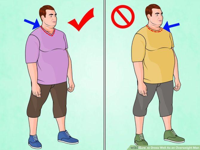 tips-berpakaian-untuk-orang-gemuk