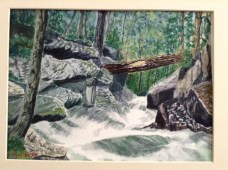 """""""Rushing Water"""" by Lannie Mullenax - Honorable Mention"""