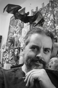 comic book artist Dan Brereton