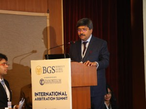 Rajnish Pathiyil - Executive Directive of Berkeley Global Society opening speach of the Arbitration Summit - Delhi 11.2020