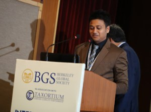 Lovekesh Aggarwal opening speech of Berkeley Global Society International Arbitration Summit in Delhi 11.2019 with Taxortium