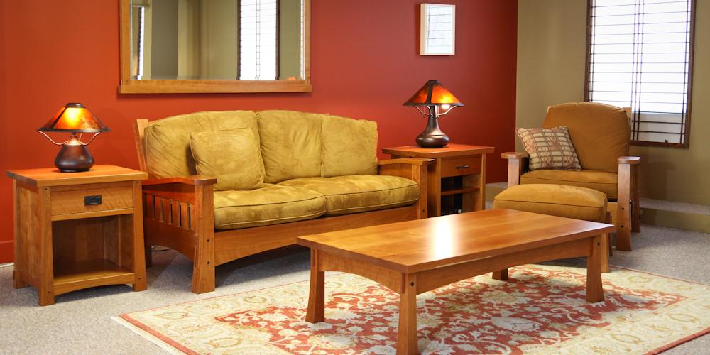Arts  Crafts Sofa by Berkeley Mills