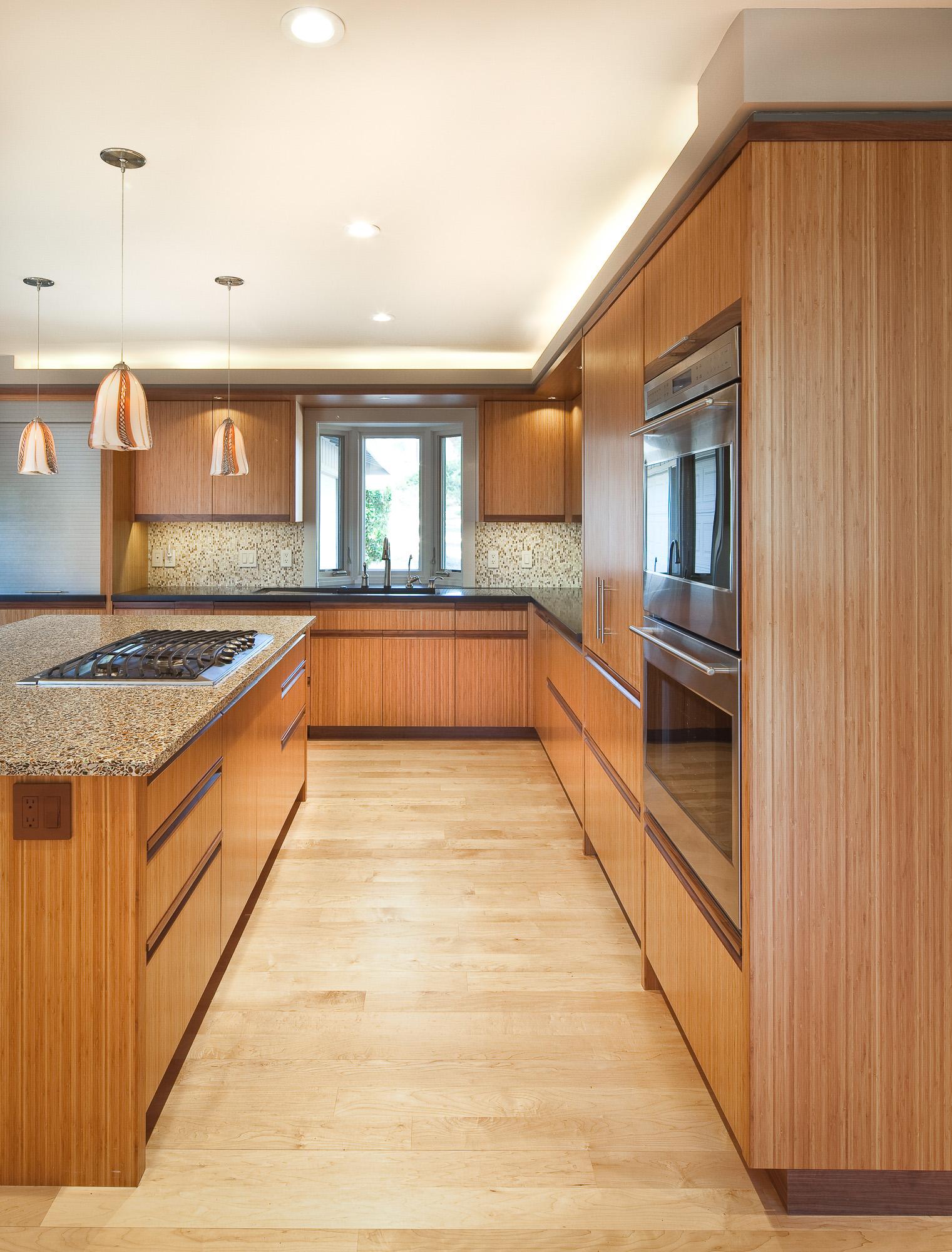 Bamboo kitchen Cabinet by Berkeley Mills