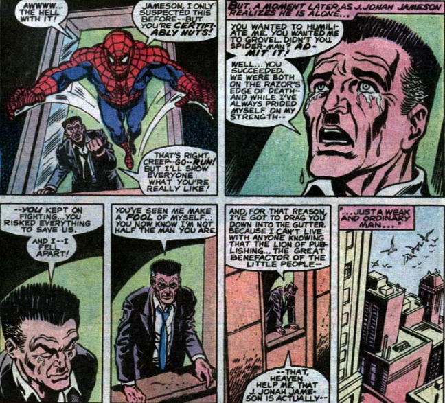 j jonah jameson gets a conscience