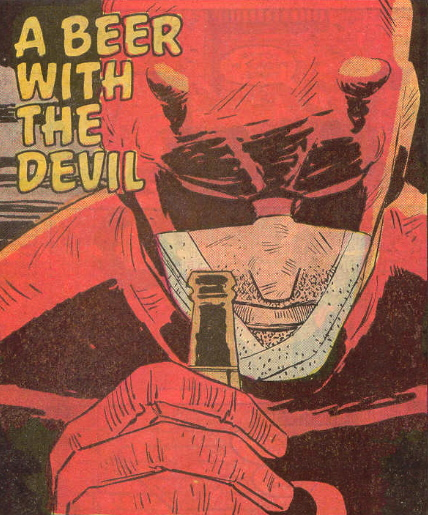 a beer with the dare devil