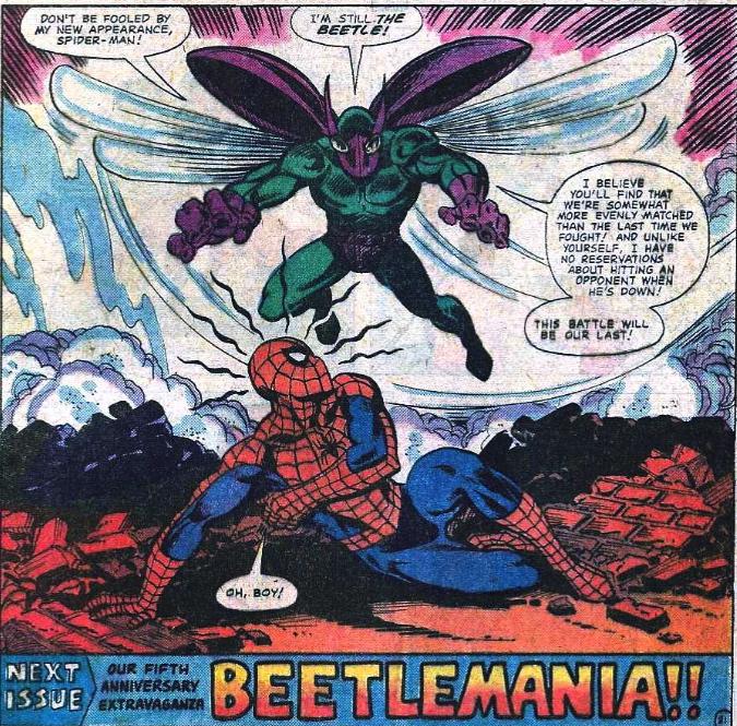 SPIDER-MAN BEETLE
