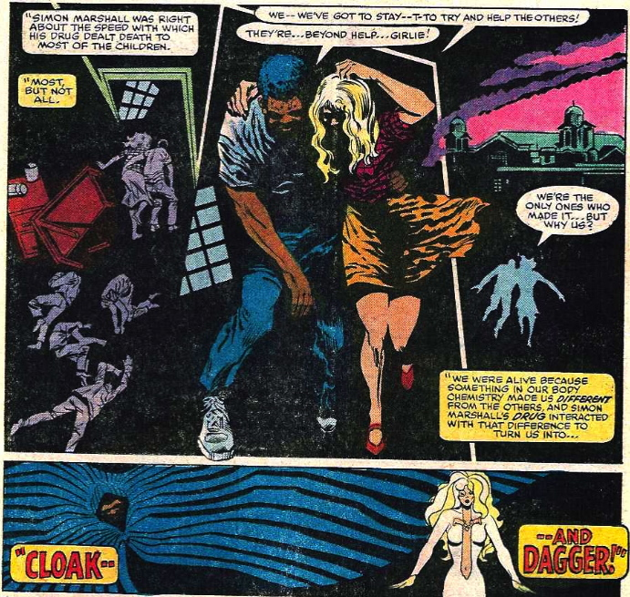 first appearance of Cloak and Dagger