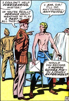kirby origin of captain america