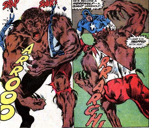falcon vs werewolf