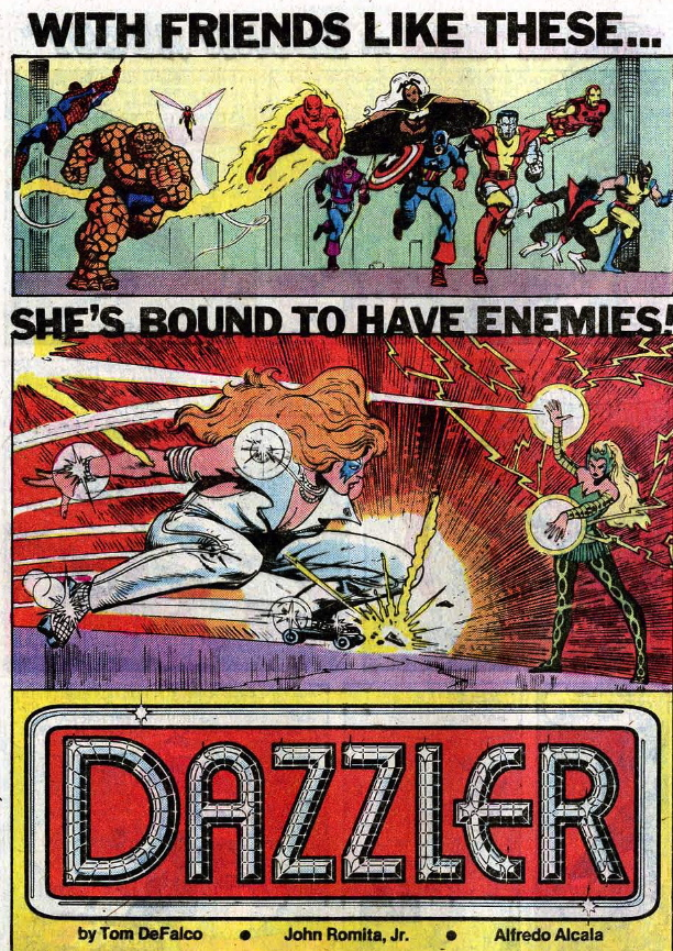 dazzler house ad