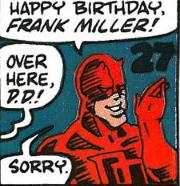 January 27-frank miller birthday