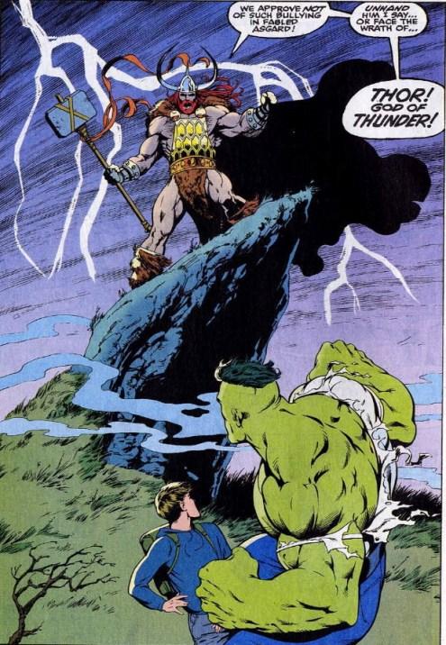 all new thor vs hulk