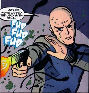 professor x with a gun