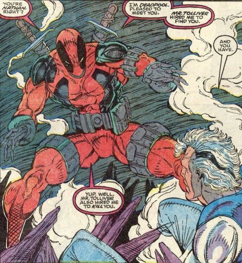 deadpools first appearance