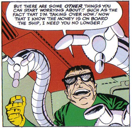 first appearance doc ock
