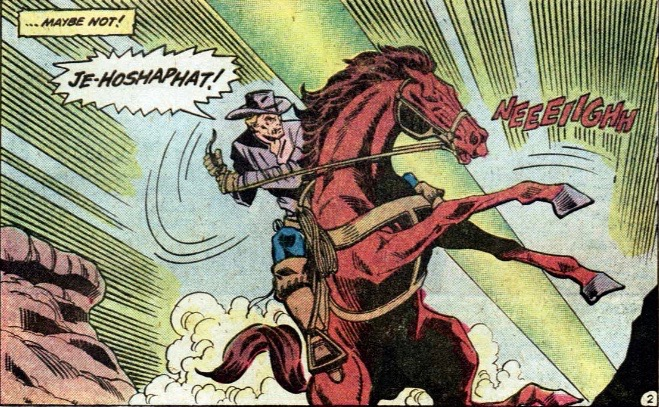 jonah hex on a horse