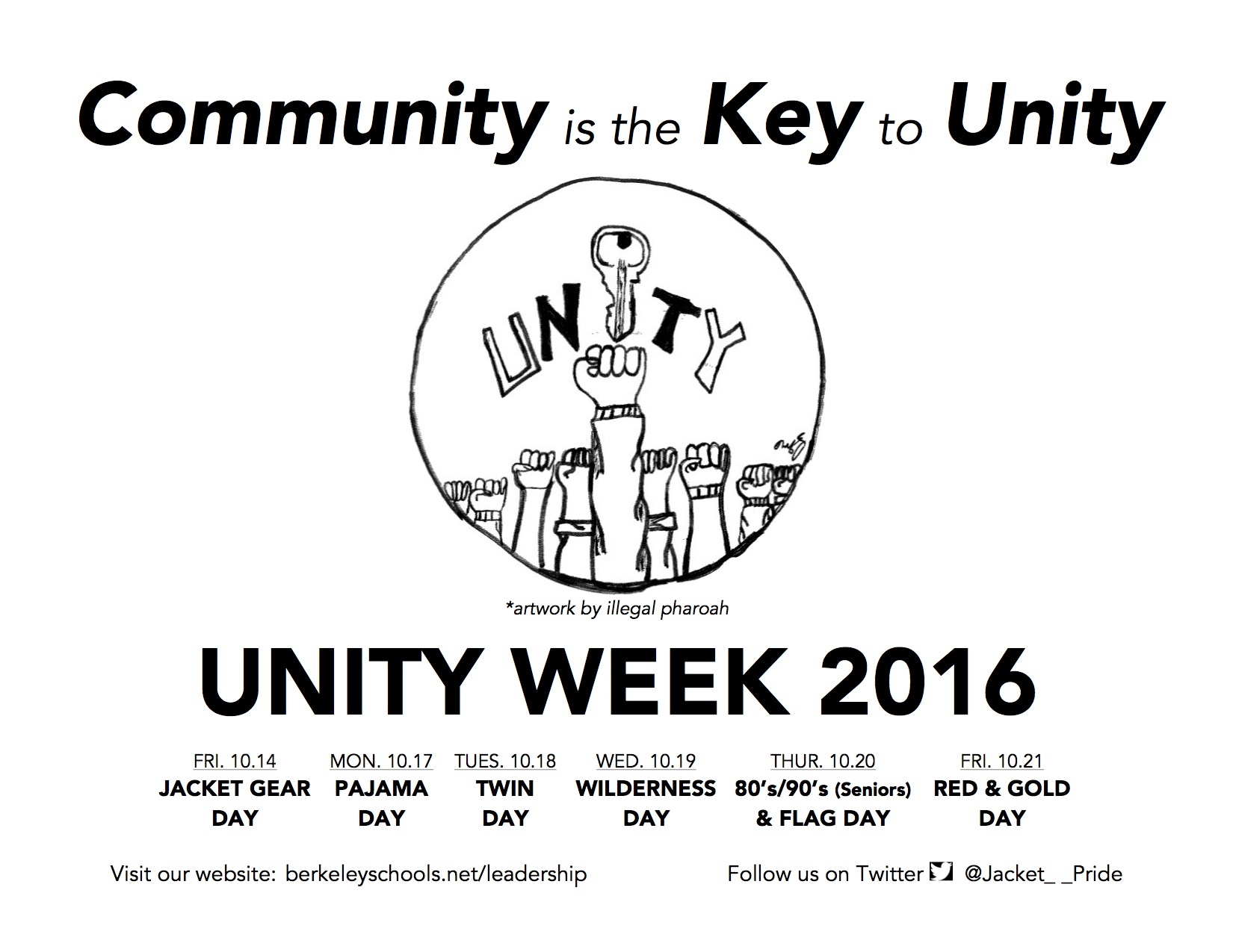 UNITY WEEK 2016 THEME DAYS