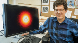 Non-contact Atomic Force Microscopy captures chemistry in action