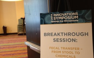 The breakthrough session I attended, featuring many of the top doctors, scientists, and entrepreneurs who are working to make fecal transfer an accessible, viable, and regulated treatment for patients with IBD.