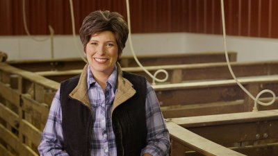 Joni Ernst US. senator Iowa cut pork ad.