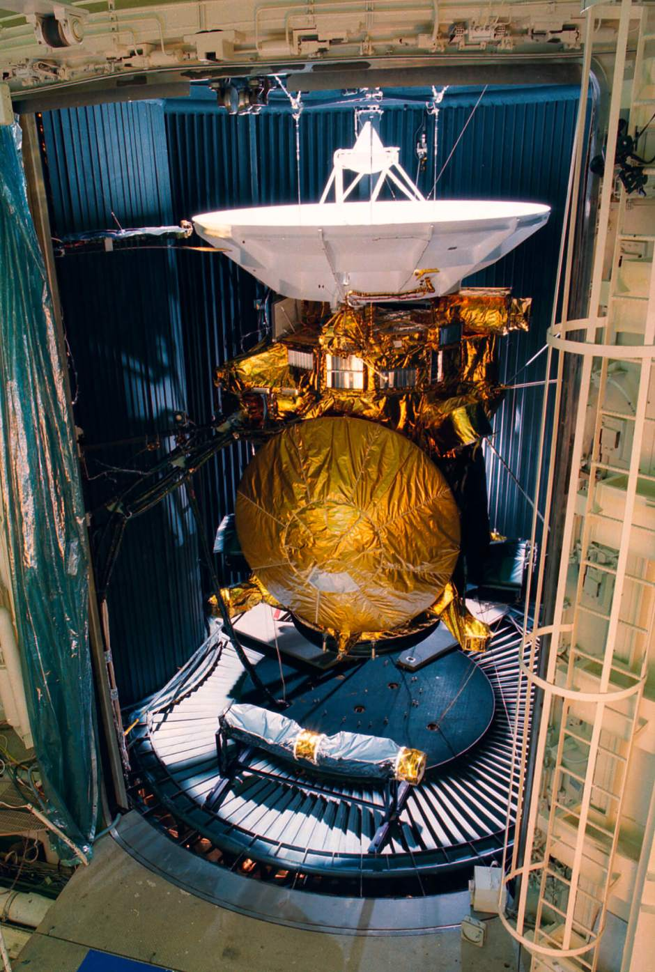 Cassini in the Space Simulator