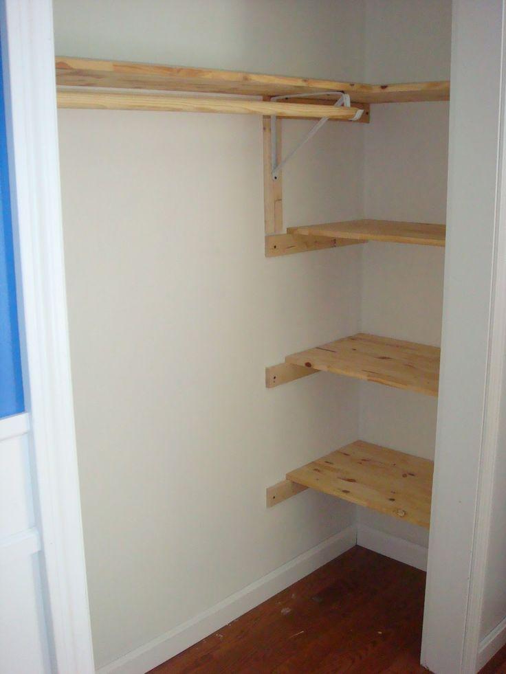 Planken Bevestigen Aan De Muur.Planken In Een Smalle Nis Om Met Hun Eigen Handen Te Werken