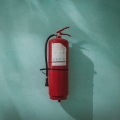 Kidde Kitchen Fire Extinguisher Yellow And Red Curtains Is Your Home Safe