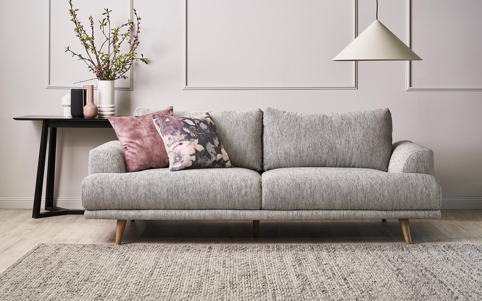 Lounge Couch Charles Sofa - Berkowitz Furniture