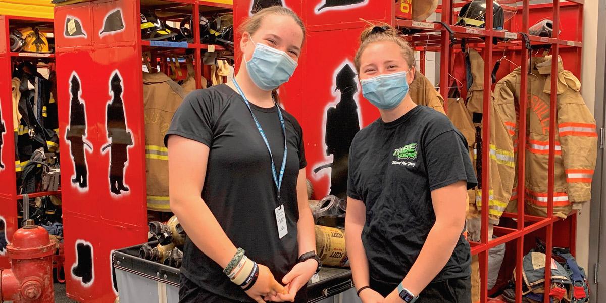 Bethany Kunz & Hailey Hagenbuch