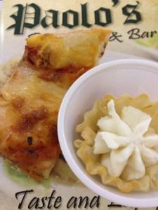 Pizza Filo with Cream - Paulos