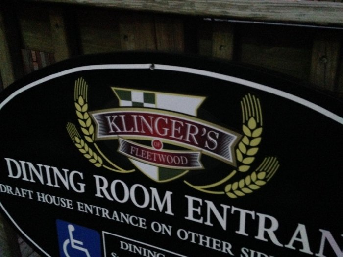 klinger-s-fleetwood-sign