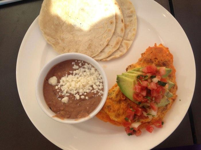 Sonoran omelette - JW Marriott Starr Pass Resort